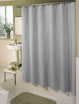 Essential Home Standard Waffle Shower Curtain Free Shipping New