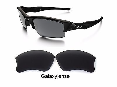 Galaxy Replacement Lenses For Oakley Flak Jacket XLJ Stealth Black Polarized