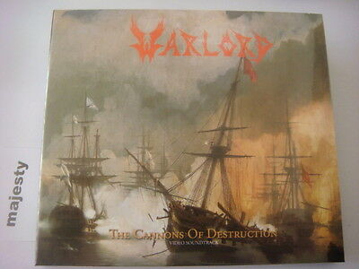 WARLORD-The Cannons of Destruction+1 NEW DIGI LIM.500 NUMBERED