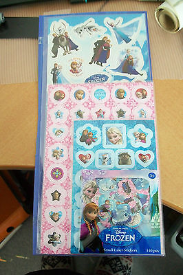 4 Sheets Stickers Frozen With More Than 200 Stickers  New