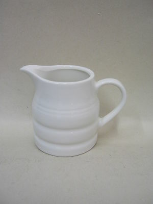 New Bartlett Mini Pot Churn Cream Milk Jug White 135ml T359