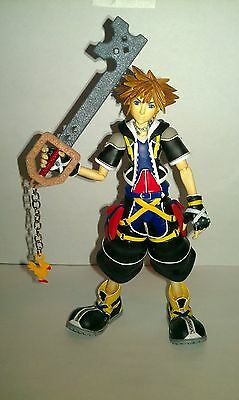 "CUSTOM ""metallic chicken""keyblade for kingdom hearts 2 II play arts arms sora"