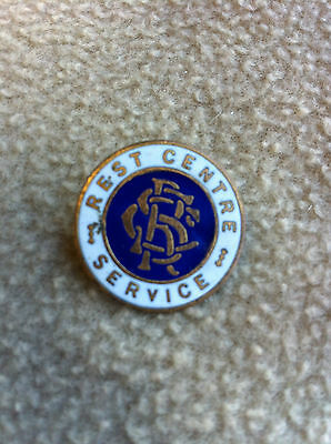 Original WW2 Rest Centre Service Pin