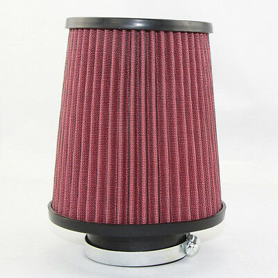 """K N Sytle High-flow Air Filter Pod 3""""x9"""" Clamp-on Round Tapered High Performance"""