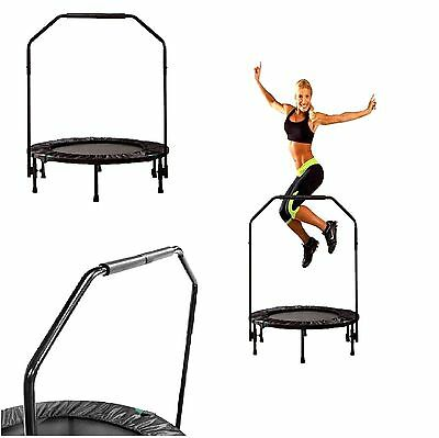 FITNESS TRAMPOLINE Cardio Mini Trainer Workout Gym Exercise 40'' Free Shipping