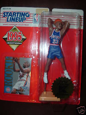Grant Hill Rookie 1995 Starting Line-Up-Pistons-Kmart Exclusive Pistons Figure