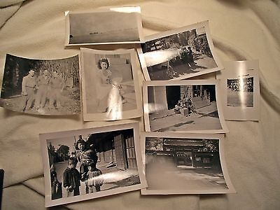WW2  Japanese  Photographs; lot of 8 photos pre or post war???
