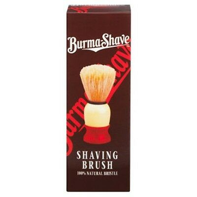 Burma Shave 100% Natural Bristle Shave Brush