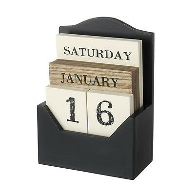 how to make a perpetual wooden block calendar