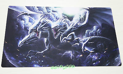 E33 Blue Eyes Ultimate Dragon Play Mat Yugioh Custom Made Playmat Free Mat Bag