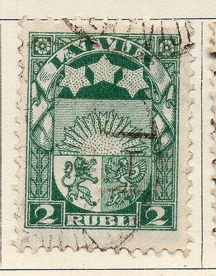 Latvia 1921 Early Issue Fine Used 2R. 055107