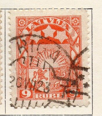 Latvia 1921 Early Issue Fine Used 9R. 055111