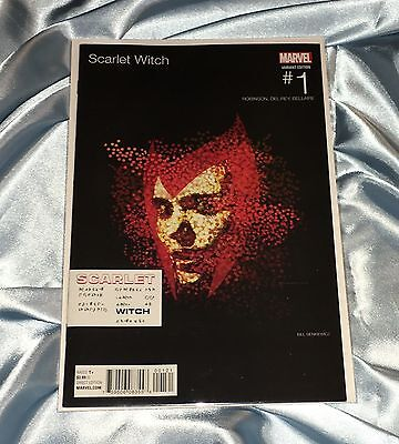 Scarlet Witch #1~Bill Sienkiewicz Hip Hop Variant~Eminem Relapse Cover Homage~Nm