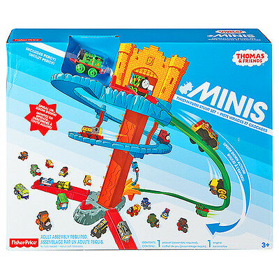 THOMAS & FRIENDS Minis Spiral Twist n Turn Stunt Set with Percy Train - SALE