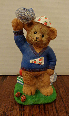 Danbury Mint Calendar Bear -- September