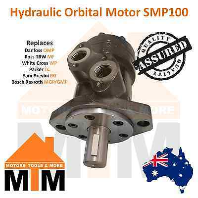 Orbital Hydraulic Motor SMP100 Interchangeable with White Cross WP,  Parker TC,