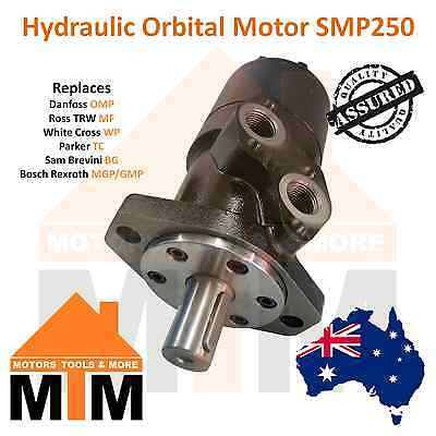 Orbital Hydraulic Motor SMP250 Interchangeable with White Cross WP, Parker TC