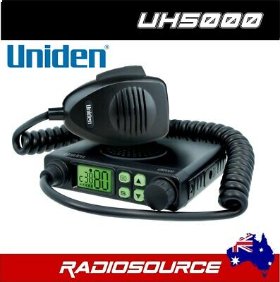 Uniden Uh5000Nb 80 Channel 5W Uhf Radio For Trucks Cars 4Wd 12V