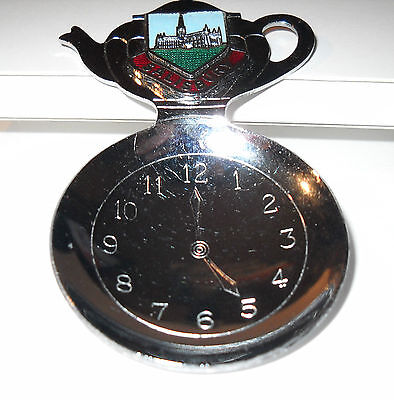 Salisbury Collector Spoon Clock Etched In Spoon Set At 5 O'Clock