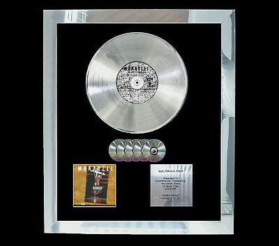 2Pac Makaveli The Don Killuminati:  MULTI (GOLD) CD PLATINUM DISC FREE POSTAGE!!