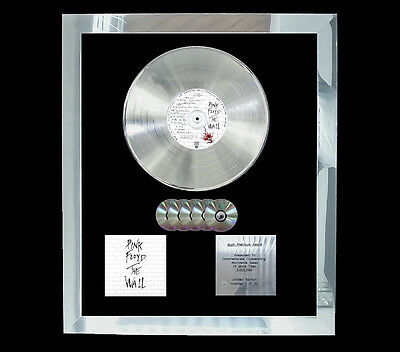Pink Floyd The Wall  Multi (Gold) Cd Platinum Disc Free Postage!!