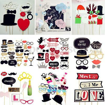 2016 New Photo Booth Props Mustache Lip With Sticks Wedding Birthday Party Masks