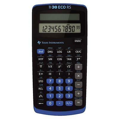 Texas Instruments Taschenrechner TI-30 ECO RS Solar-Energie 79x1 (TI30ECO RS)