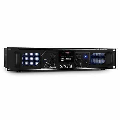 Amplificatore Audio Finale Potenza 2000W Pro Dj Usb Sd Mp3 Karaoke Home Theatre