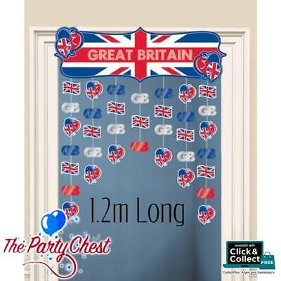 GREAT BRITAIN DOOR DECORATION Olympics Royal Celebration Party Decoration 994821