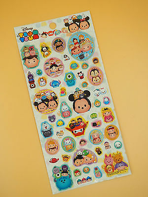 Disney Tsum Tsum Stickers Mickey Minnie Frozen Chip n Dale Toy Story Pooh Donald