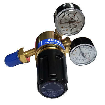 Oxygen Regulator 2 gauge, Single Stage