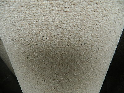 Carpet Remnant / Roll End Everest Twist Deluxe Cameo 5x2.14 Cheap Warrington