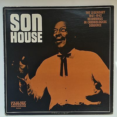 Son House - Legendary 1941-42 recordings, Folklyrik  9002, USA NM-/EX rare BLUES