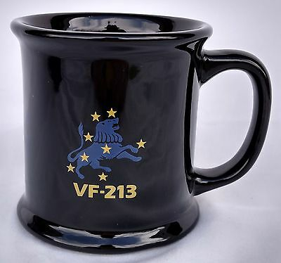 VF-213 Blacklions Coffee Mug F-14 Tomcat Navy