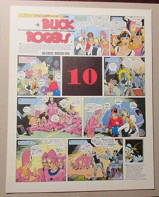 1981 BUCK ROGERS Club Anni Trenta #10 FVF Dick Calkins
