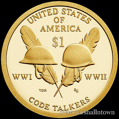 2016 S Native American Sacagawea Proof ~ US Coin from Mint Proof Set