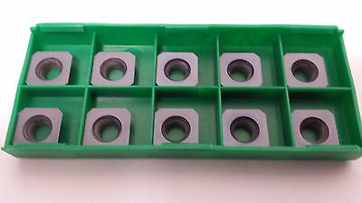 New World Products SEHW 43 AFTN MC5k C6 PVD Coat Carbide Inserts 10pcs Milling