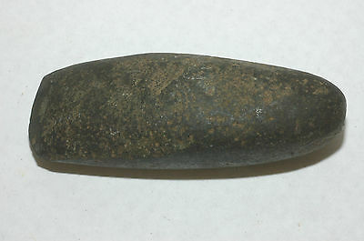 Pre-Historic Ohio Valley Stone Carved Celt  Axe head NAA-202
