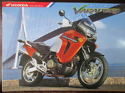 Brochure Catalogue 1999 Moto Honda Varadero Xl 1100 V