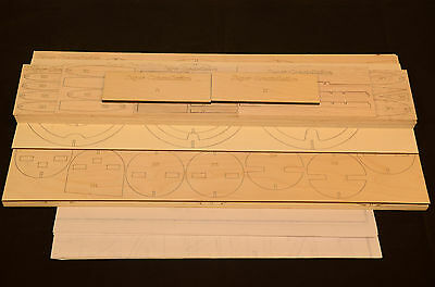 1/19 Scale SUPER CONSTELLATION Laser Cut Short Kit & Plans, 76.5 in. Wing Span