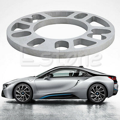 Universal 10MM Alloy Aluminum Wheel Spacers Shims Plate 4/5 Stud Fit WS-100 New