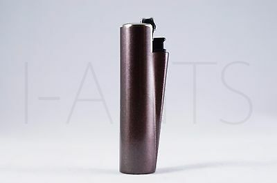 1x Clipper Refillable Mini Size Lighter With Metallic Removable Cover