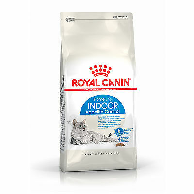 Croquettes pour chats Royal Canin Indoor Appetite Control Sac 4 kg
