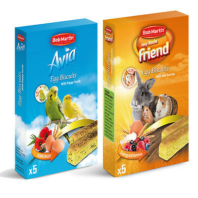 Bob Martin Egg Biscuits for Small Animals and Birds Animal Treats 35g x 6