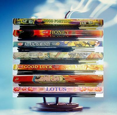 Incense Sticks Lucky Fortune 7 Day Variety Pack