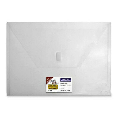 Itoya Pe-20 Poly Envelope Letter Size Clear