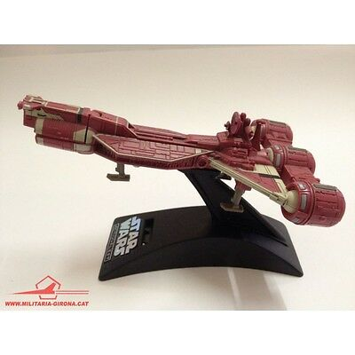 STAR WARS ACTION FLEET REPUBLIC CRUISER 1998 LGT 1 poseable figure: Qui-Gon Jinn
