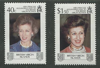 British Virgin Islands #618, 619 Mint Set Nh