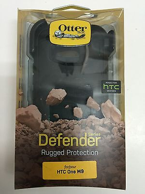 OtterBox Defender Series Protective Case & Belt Clip Holster for HTC One M9