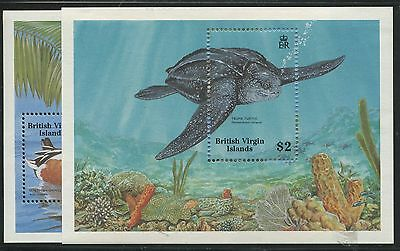 British Virgin Islands #629, 630 Mint Nh
